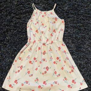 Girls Gap halter floral dress